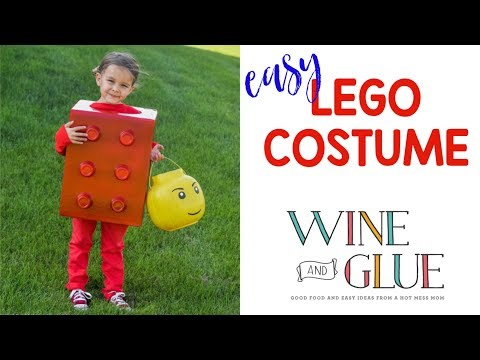 Easy Lego Halloween Costume for Kids