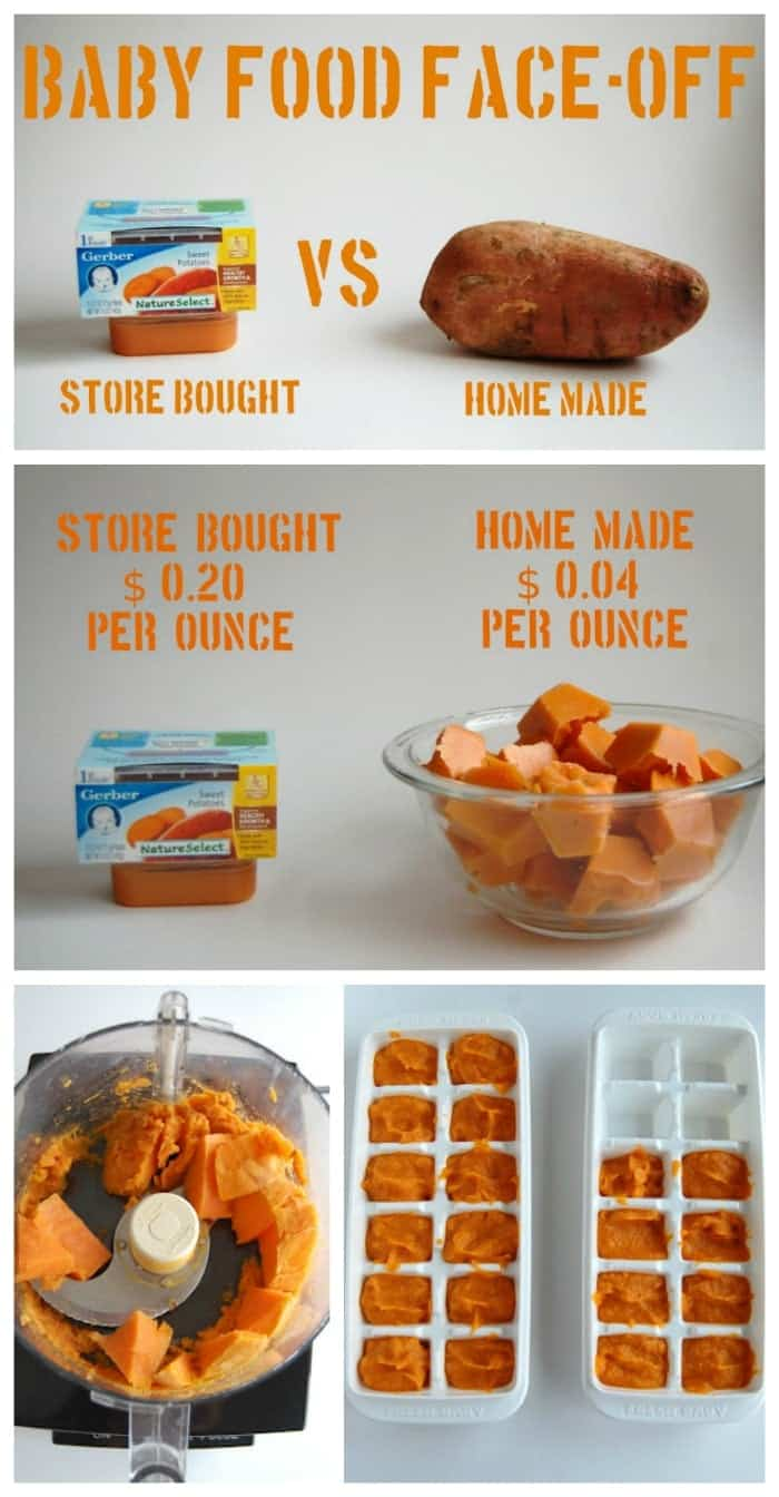 How To Store Homemade Carrot Baby Food