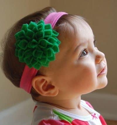 Flower Hair Clip Tutorial
