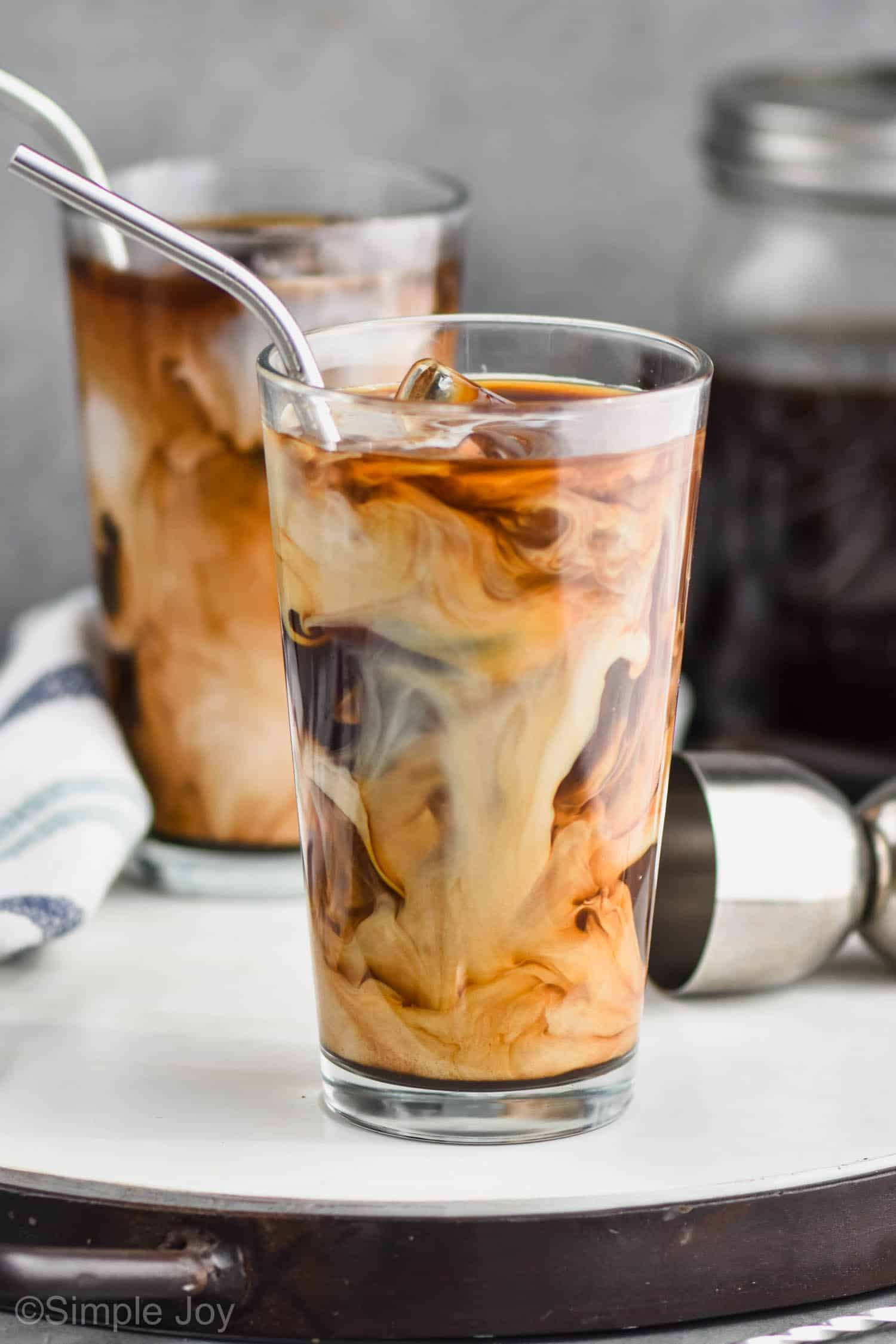 Iced Coffee Cocktail Simple Joy