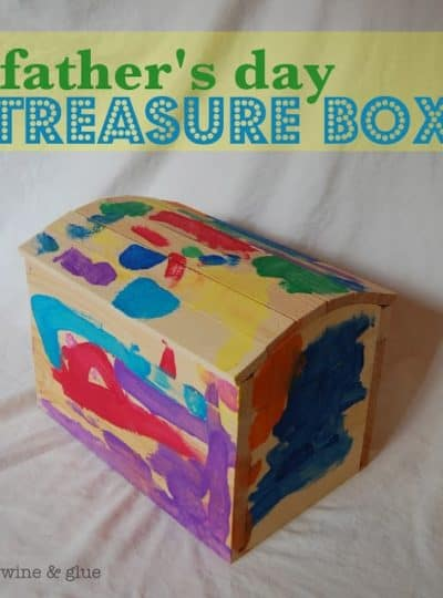 Father's Day Treasure Box