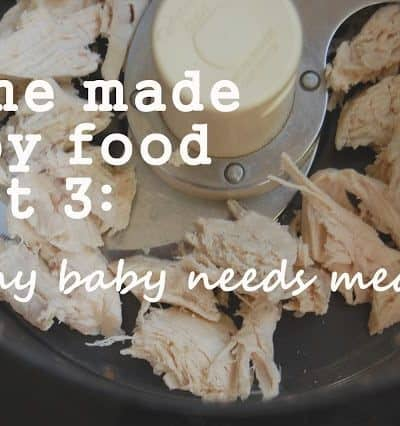 How to Make Meat Homemade Baby Food