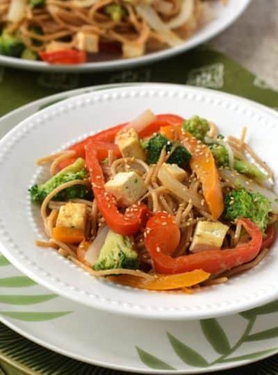 Veggie & Tofu Noodle Bowls