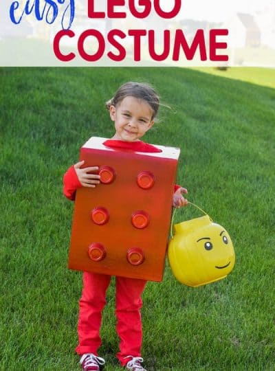 Easy Lego Halloween Costume for Kids