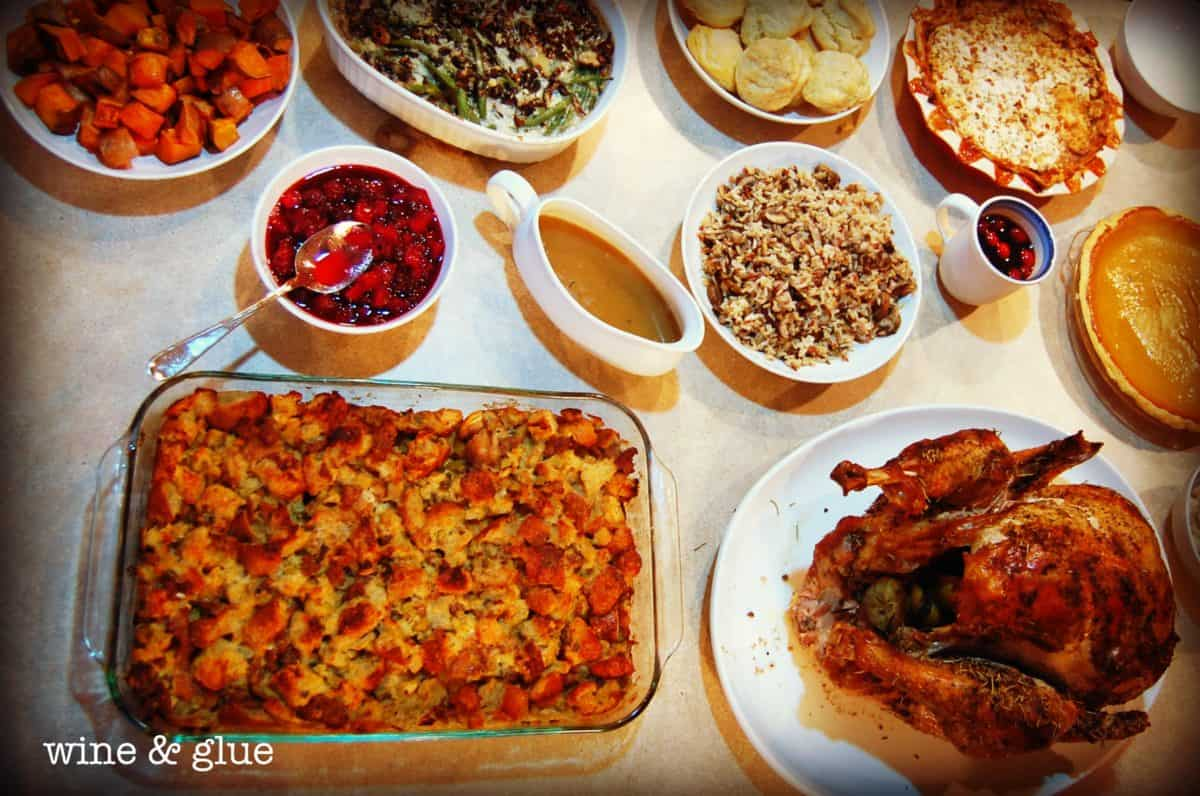 World's Best Roast Turkey Recipe - Wine & Glue