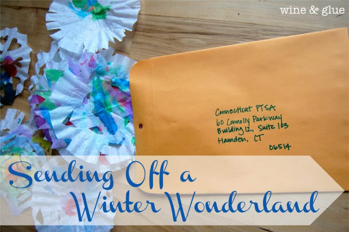 Sending off a Winter Wonderland {#BloggersforSandyHook}