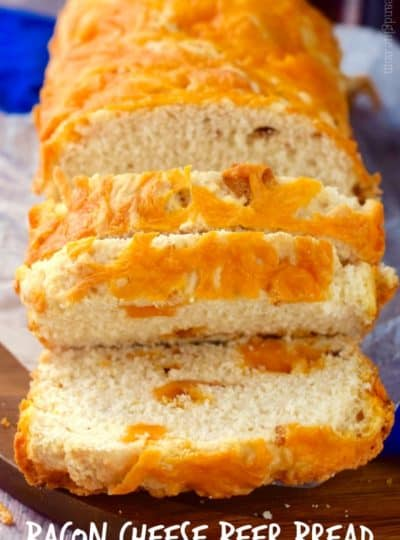 Wisconsin Bacon and Cheese Beer Bread
