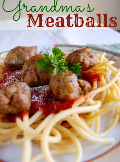 Grandma's Meatballs
