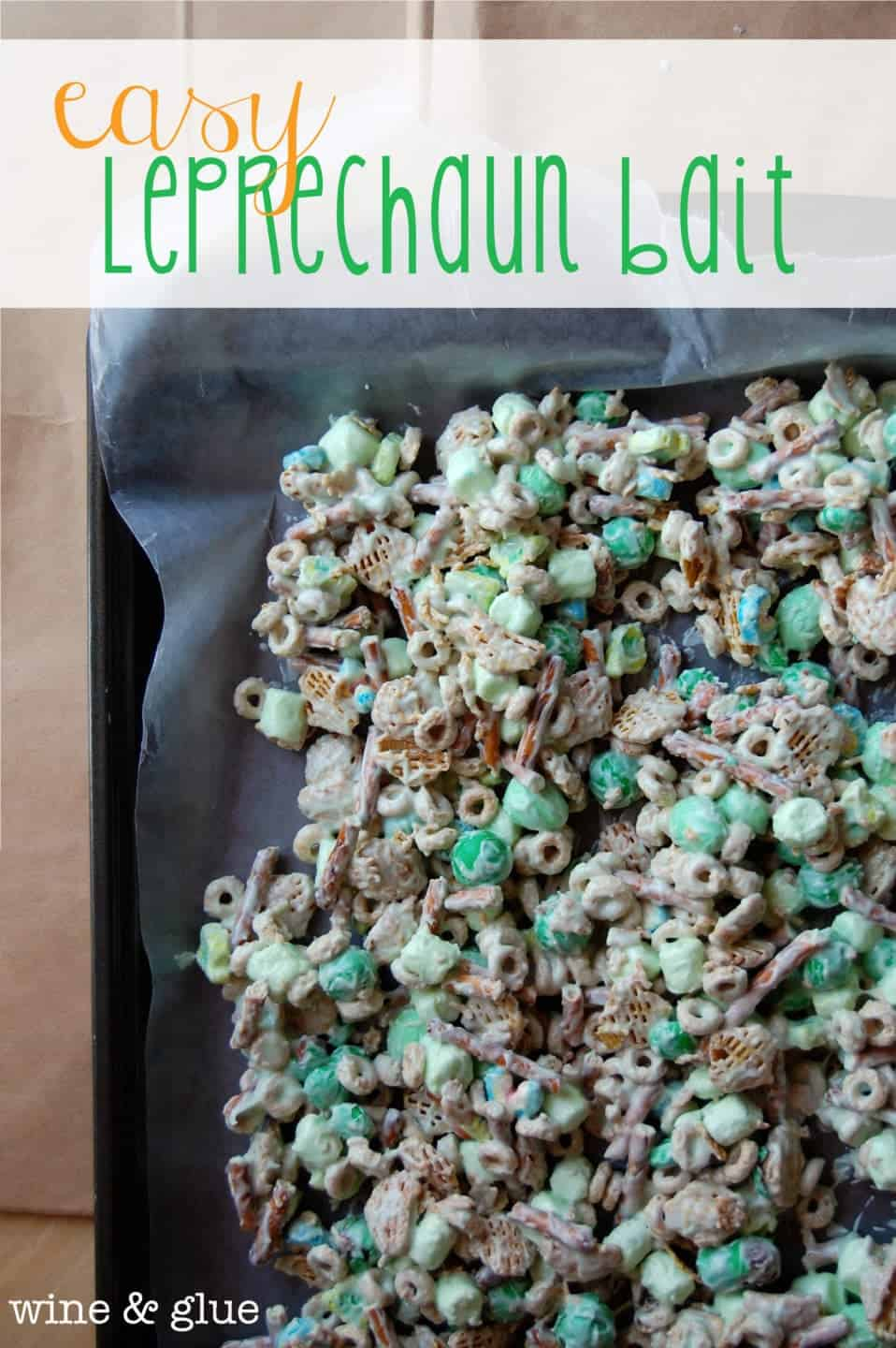 How to Trap a Leprechaun {Easy Leprechaun Bait}