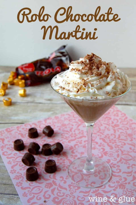 Rolo Chocolate Martini