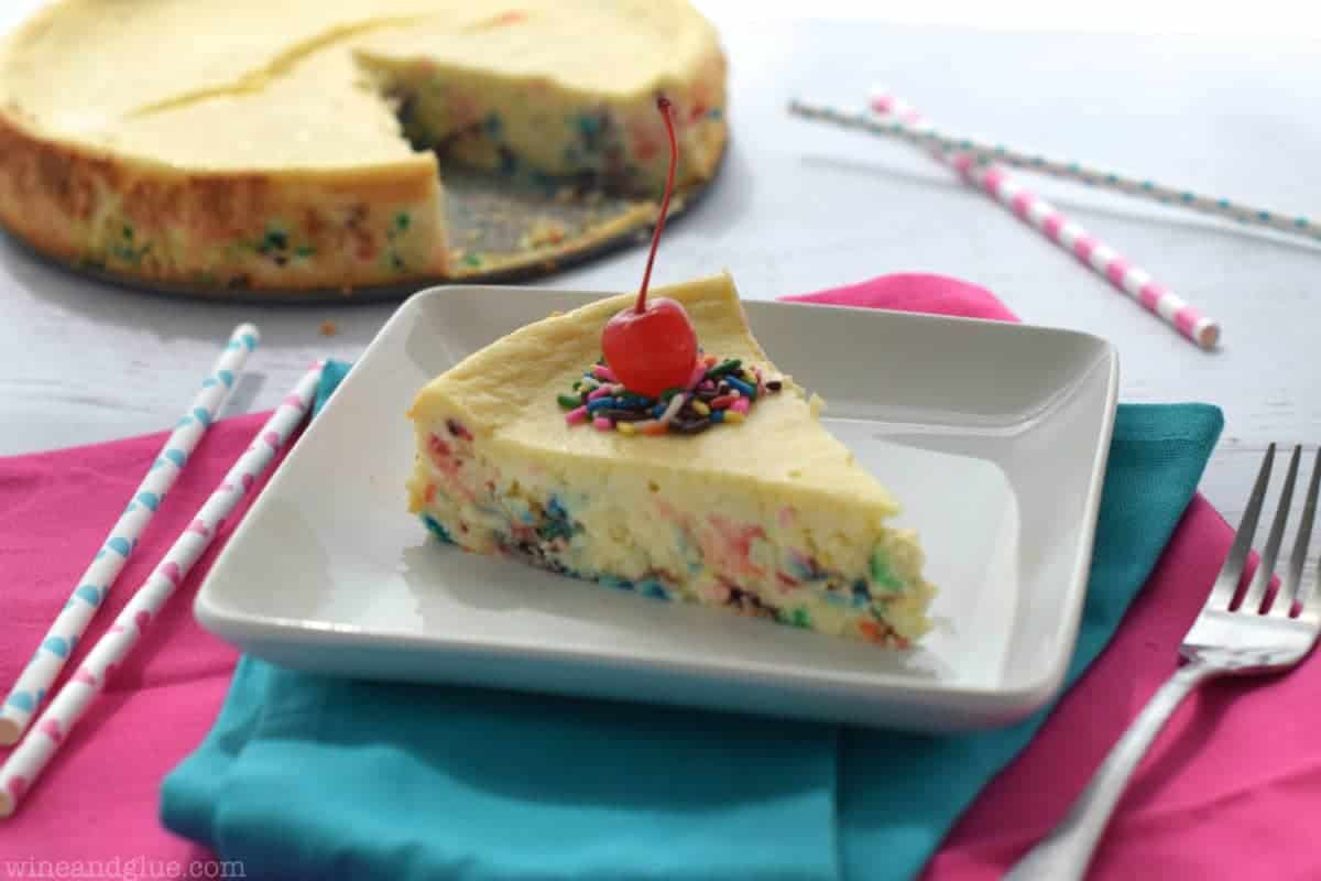 Cake Recipe With Icing In The Batter: Cake Batter Cheesecake