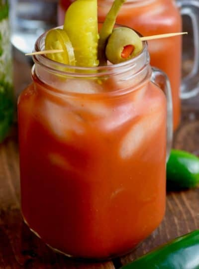 Jalapeno Spicy Bloody Mary Recipe