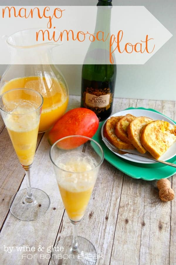 Mango Mimosa Floats