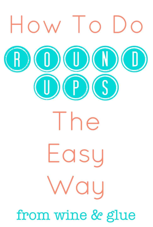 Round Ups Made Easy