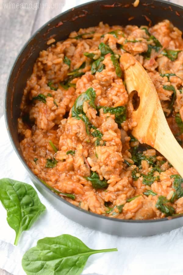 Tomato Sausage Risotto | This risotto is my all time favorite dish. It ...