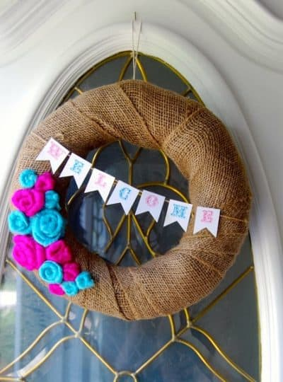 Carnival Summer Wreath