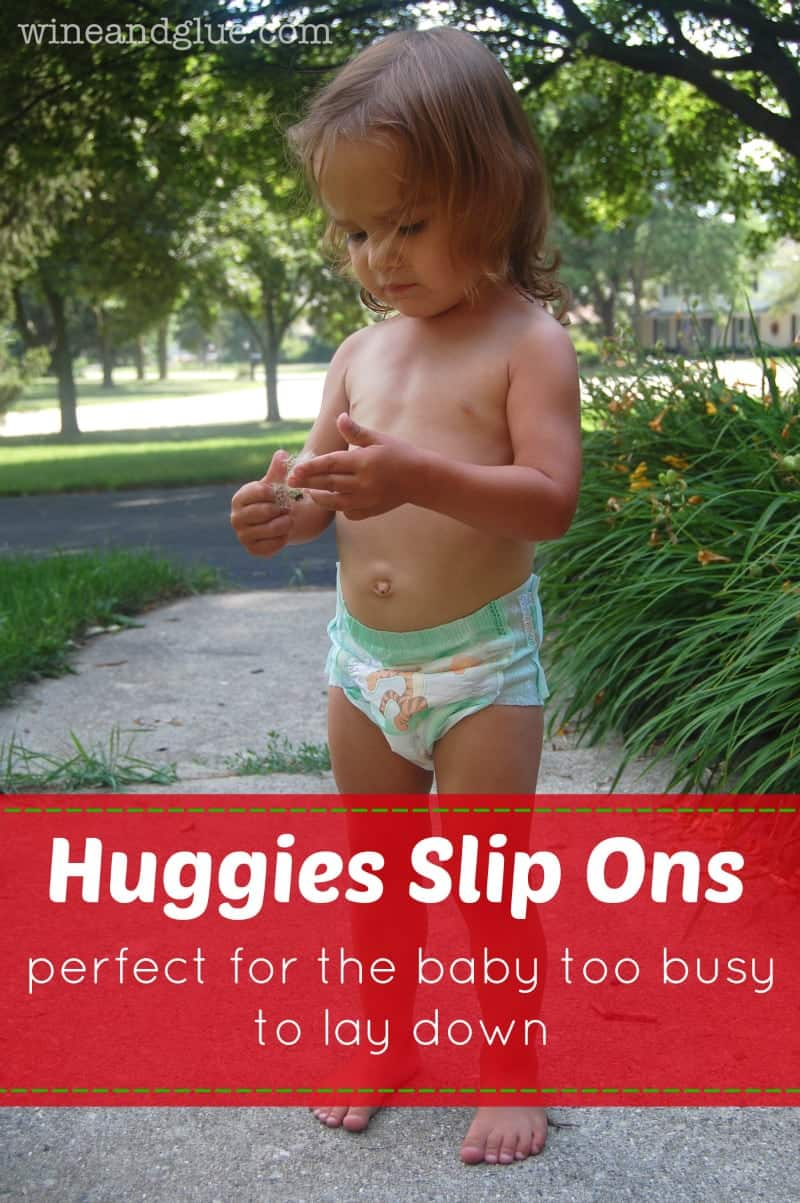 Huggies Slip On Diapers and a Target Giveaway!