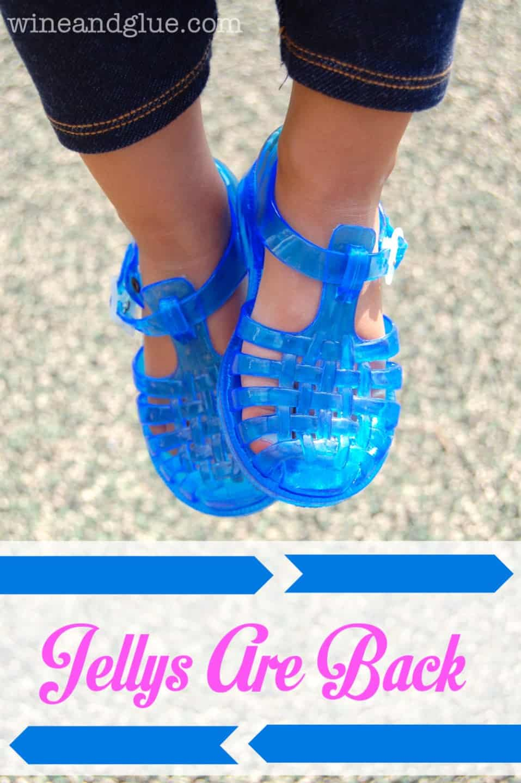 Jelly Bean Shoes! #JellysAreBack