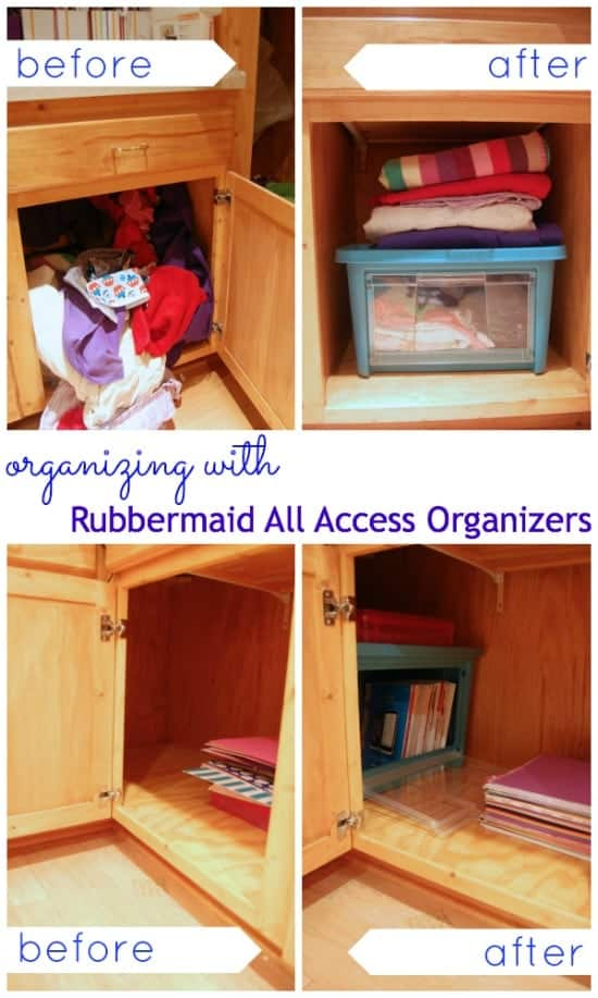 Organizing Made Easy with Rubbermaid All Access from Home Depot