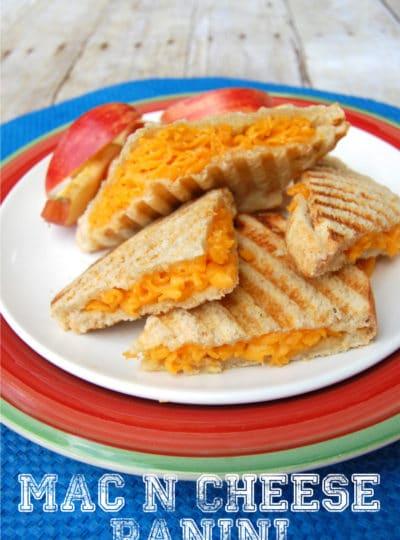 Mac N Cheese Panini