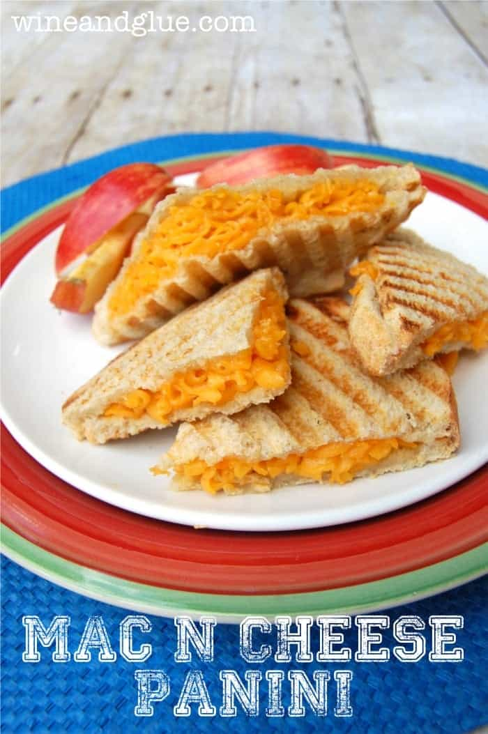 Mac N Cheese Panini