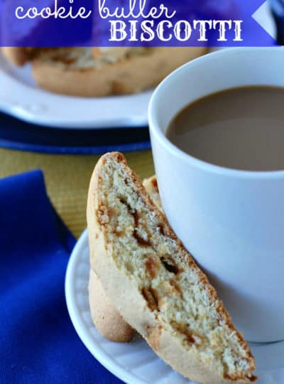 Cookie Butter Biscotti