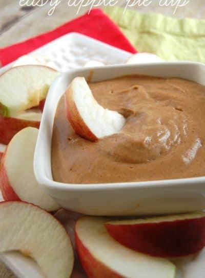 Easy Apple Pie Dip
