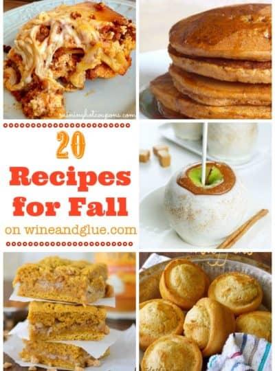 20 Fall Recipes