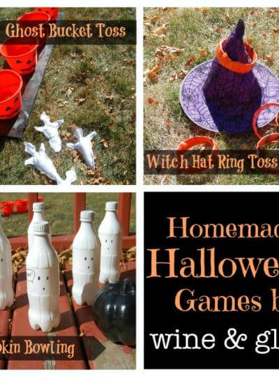 Homemade Halloween Games