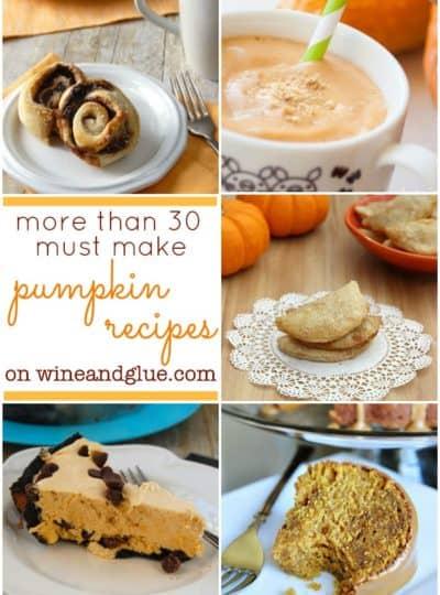 More than 30 Must Make Pumpkin Recipes!