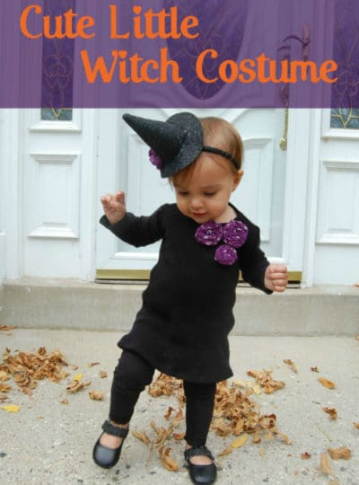 Cute Little Witch Costume