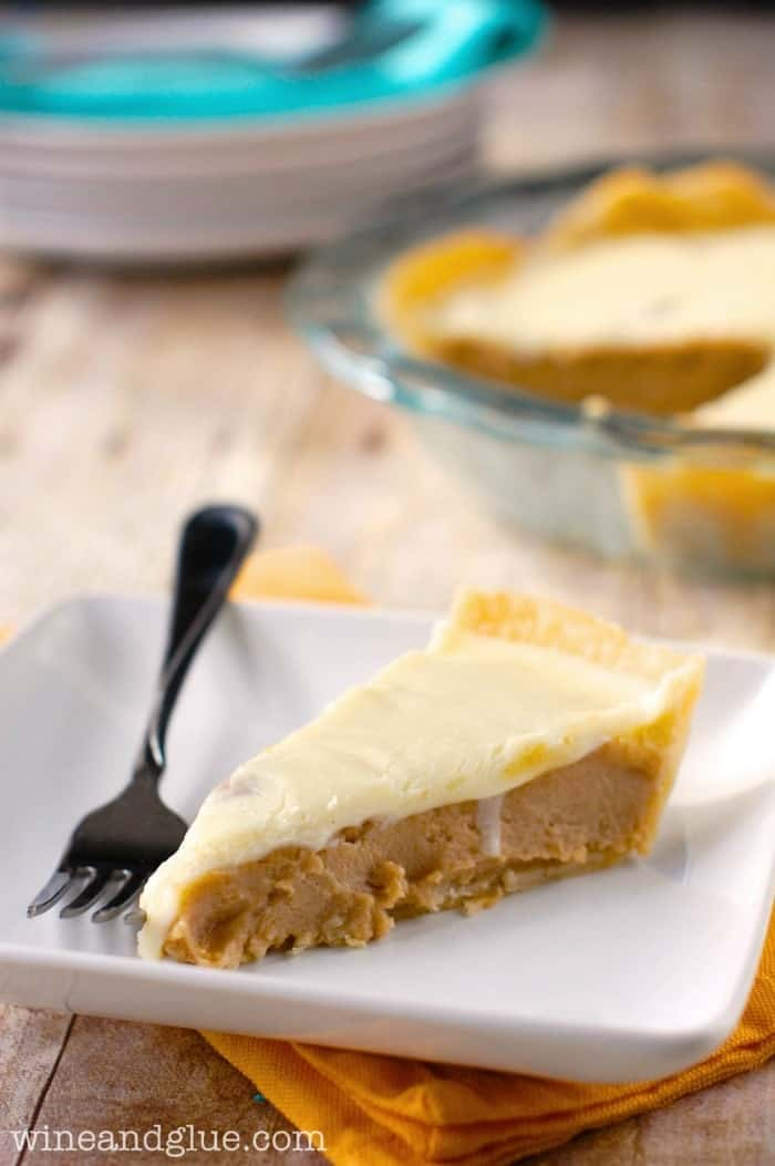 This Peanut Butter Pie with White Chocolate Ganache is so rich and delicious!