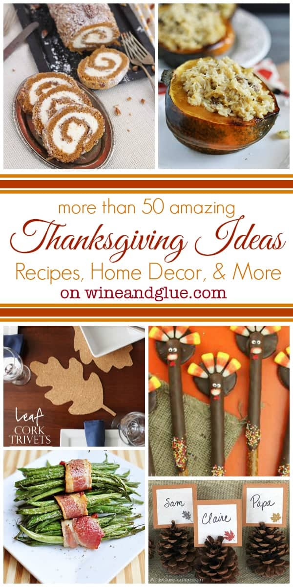 Decorating Ideas > More Than 50 Thanksgiving Ideas {Recipes, Home Decor  ~ 074229_Thanksgiving Recipes Decorations