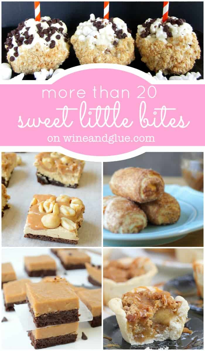 More than 20 Sweet Little Bites