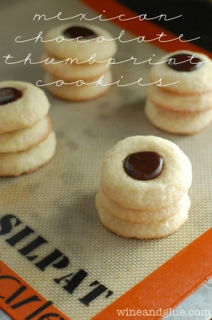 Cinnamon Roll Cheesecake Cookies Mexican Chocolate Thumbprint Cookies