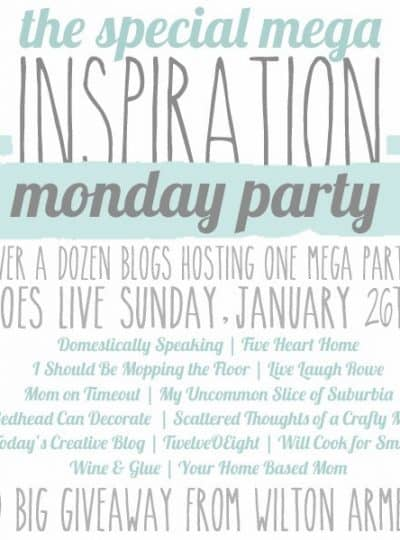 The Special Mega Inspiration Monday Party