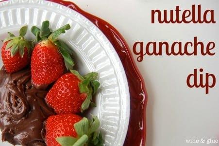 Nutella Ganache Dip