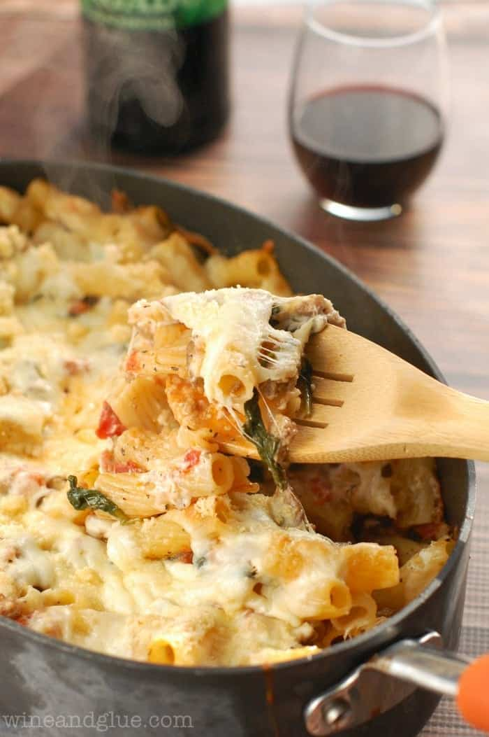 baked_pasta_spinach