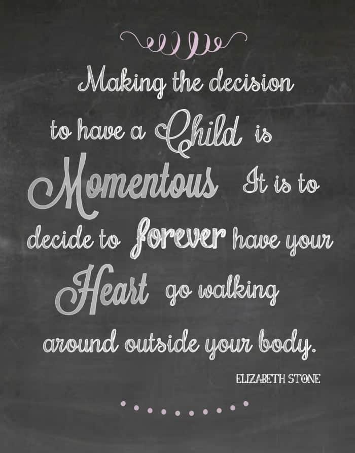 Motherhood Printable | www.wineandglue.com