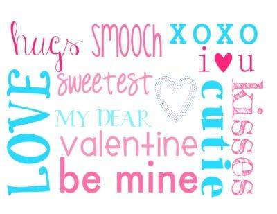 {Free} Valentine's Day Printable!