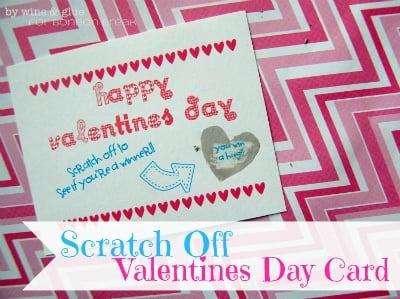 Scratch Offs, Bon Bons,& FREE Printables!