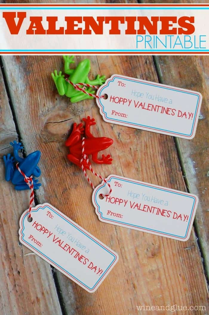 {FREE} Valentine Printable: Hoppy Valentine's Day!