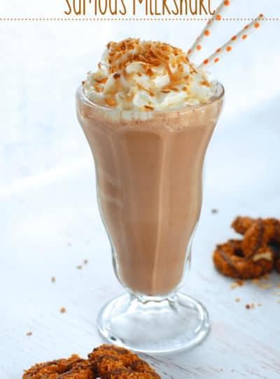 Samoa Milkshake