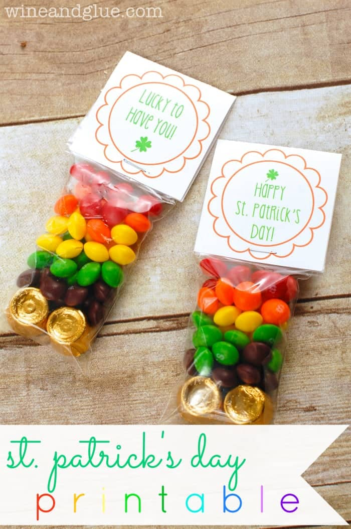 St Patricks Printable {& Baby Shower Ideas}