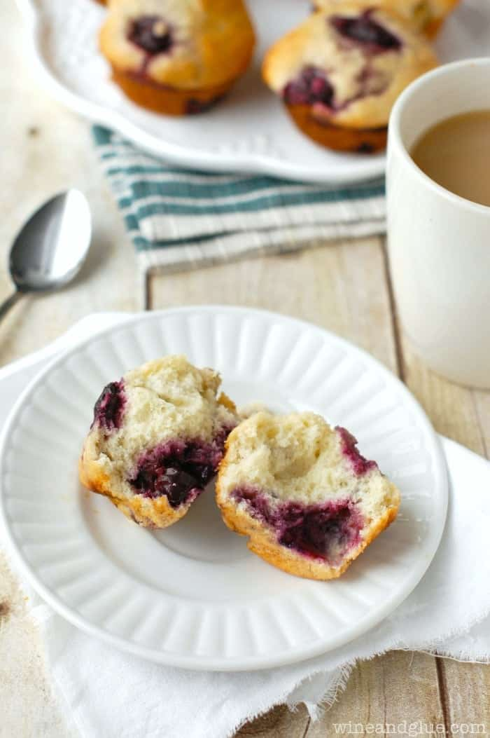 Cherry Banana Muffins | www.wineandglue.com | Delicious and moist muffins that combine the flavors of cherry and banana