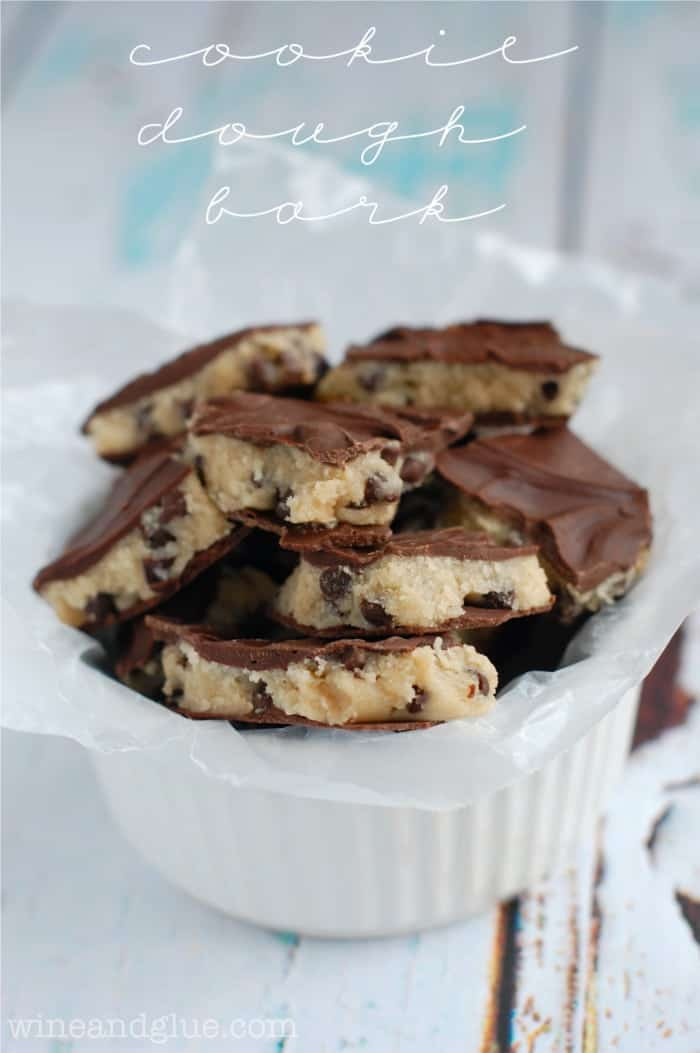 Cookie Dough Bark