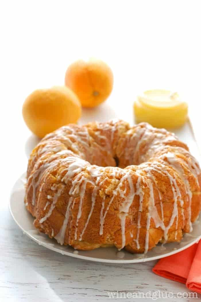 his Orange Dream Monkey Bread taste like an orange dreamsicle in monkey bread form!