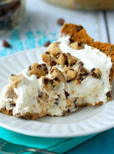 Cookie Dough Ice Cream Pie