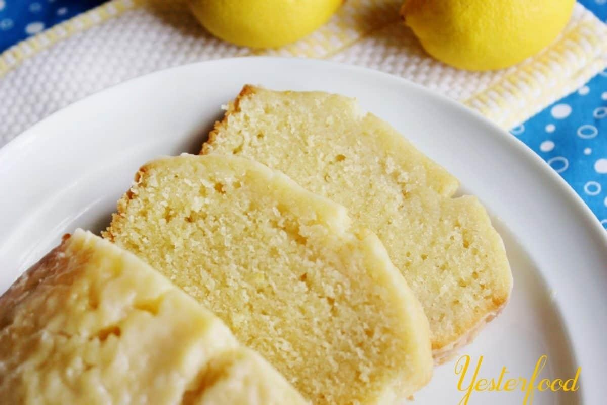 Starbucks Lemon Loaf by Yesterfood 44