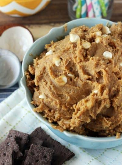 Biscoff Cookie Dough Dip